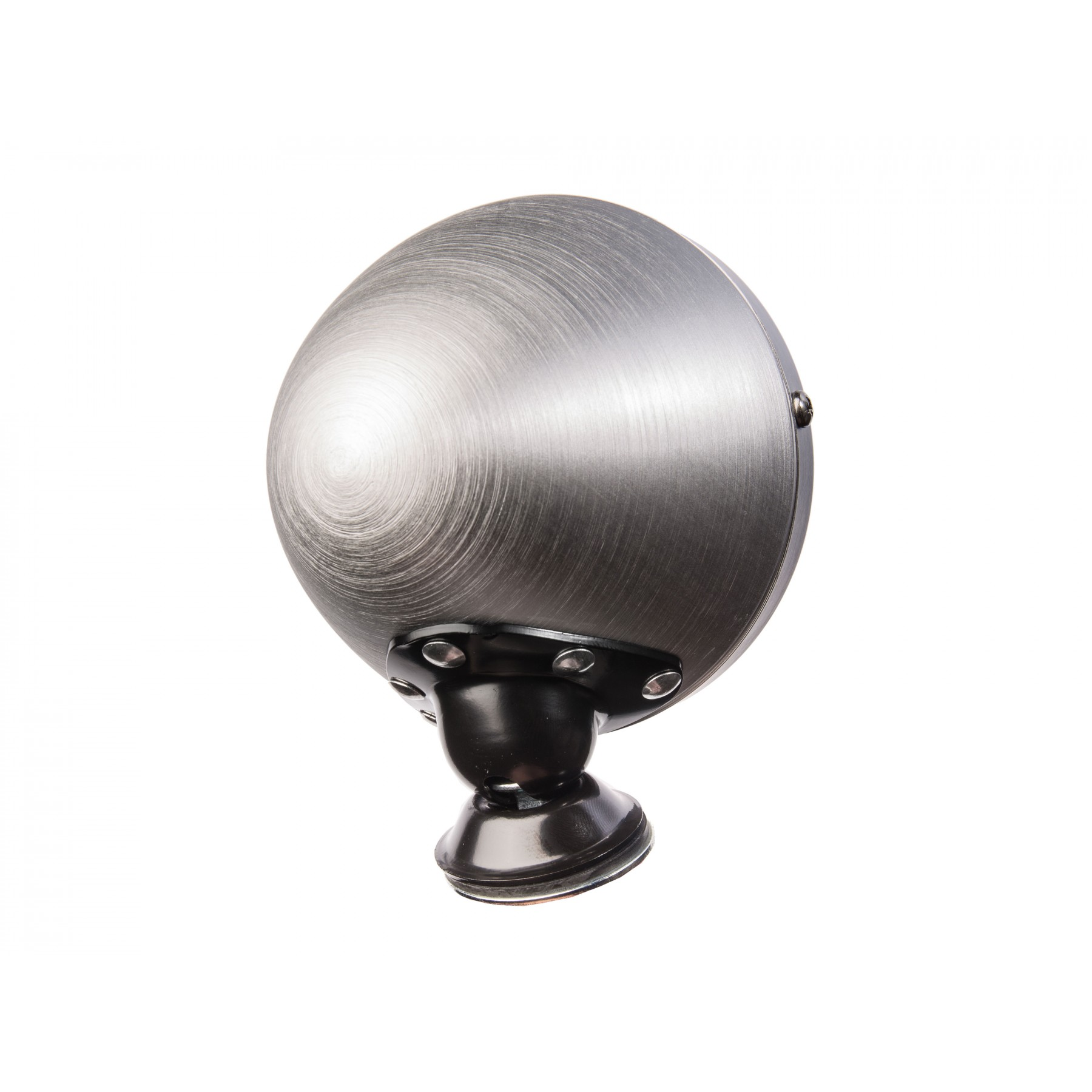 HISTORIC BULLET MIRRORS - BRUSHED ALLOY