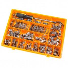 STAINLESS STEEL HOSE CLIP SET