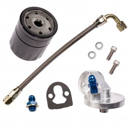 MED BILLET FILTER HEAD KIT