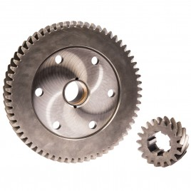 MED HELICAL CROWN WHEEL & PINION