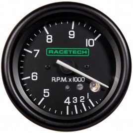 RACETECH 80MM TACHO - WITH SHIFT LIGHT