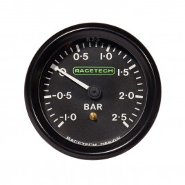 RACETECH 52MM BOOST GAUGE