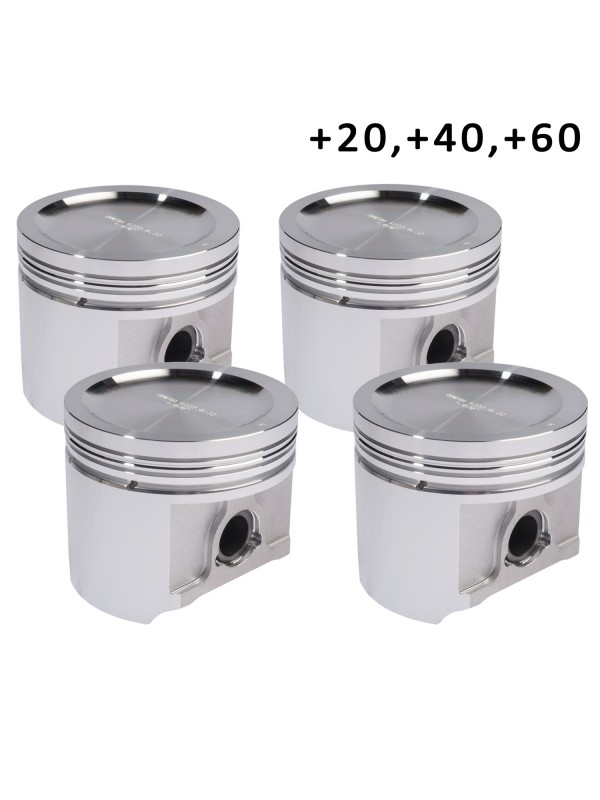 OMEGA FORGED PISTONS - 020, 040, 060 - STANDARD HEIGHT