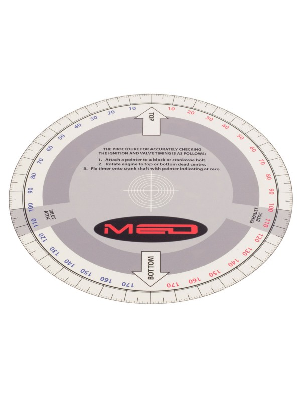 MED CAMSHAFT TIMING SETUP DISC