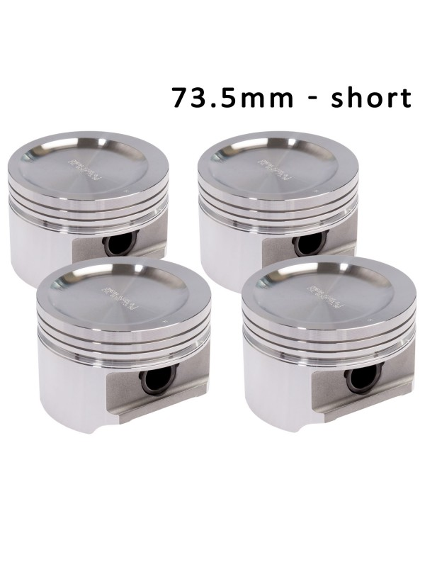 OMEGA FORGED PISTONS 73.5mm - VARIOUS SHORT HEIGHTS