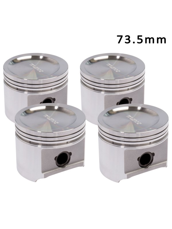 OMEGA FORGED PISTONS - 73.5mm - STANDARD HEIGHT