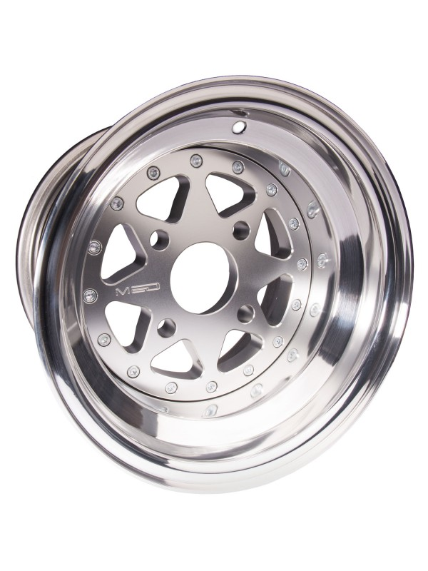 "MED MIGLIA SPLIT-RIM WHEEL - 7"" x 10"""