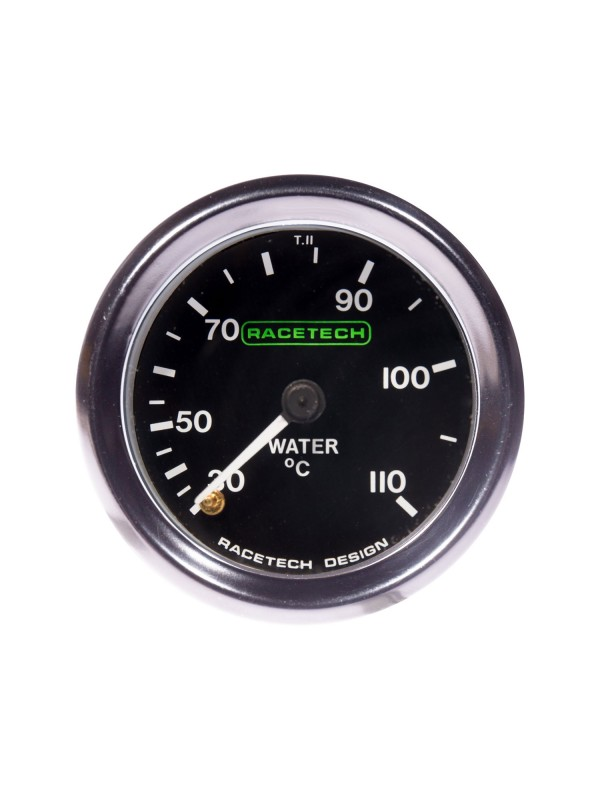 RACETECH 52MM CLASSIC WATER TEMP GAUGE