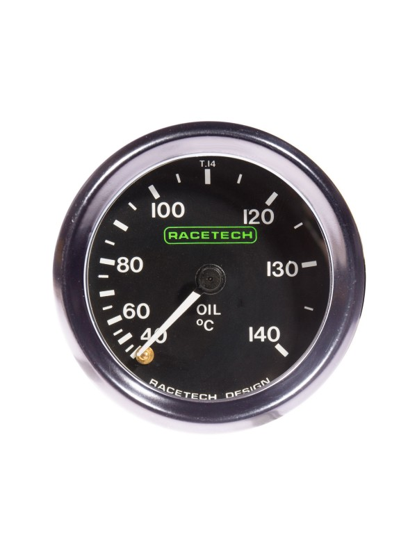 RACETECH 52MM CLASSIC OIL TEMP GAUGE
