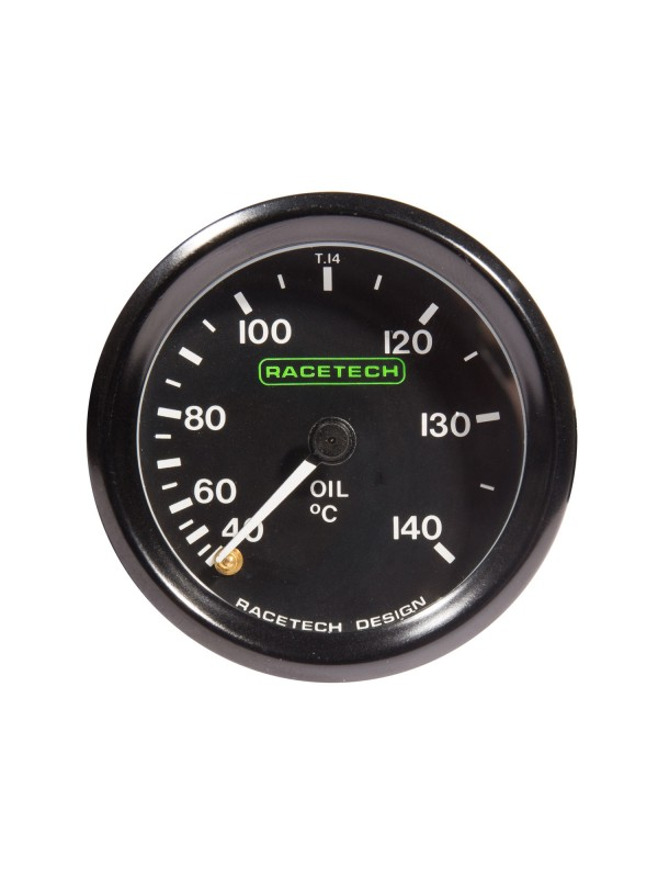 RACETECH 52MM OIL TEMP GAUGE